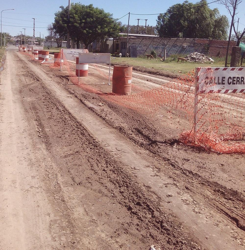 El último tramos hasta Boulevard Argentino.