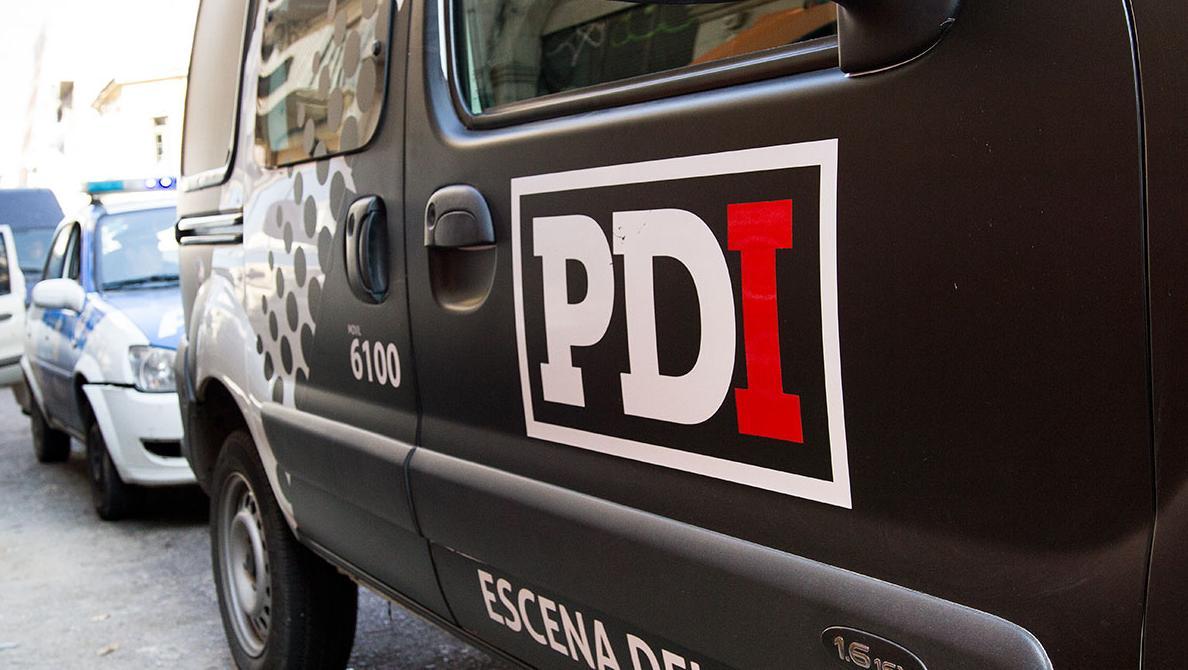 La PDI estuvo allanando en Rosario y detuvo a la fugitiva.