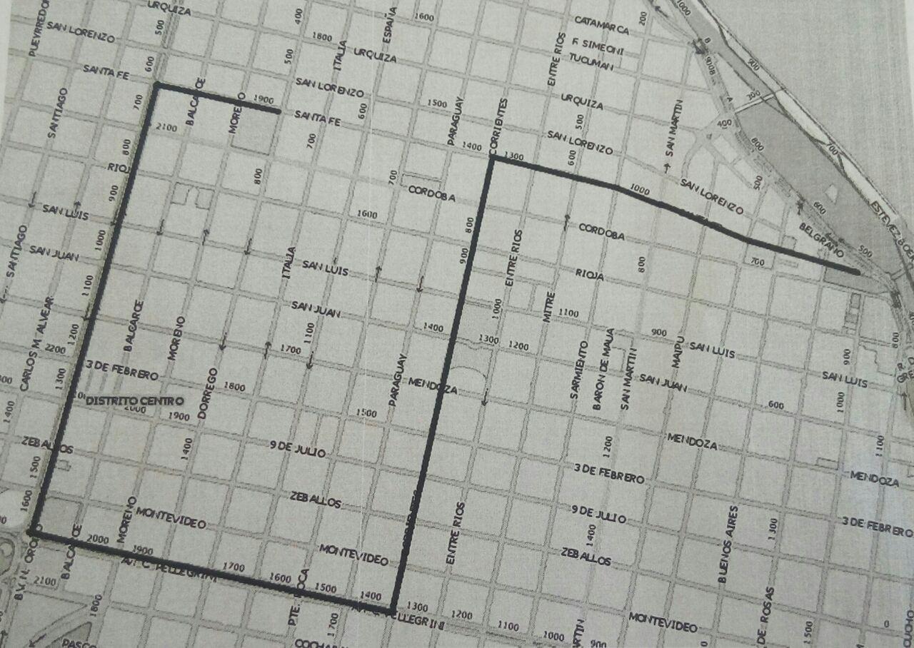La marcha atravesará el centro de la ciudad