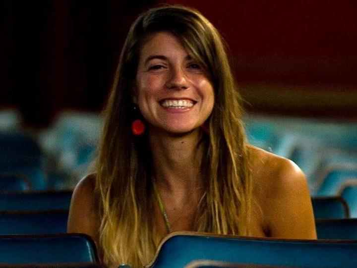 La directora de Rabia, Romina Tamburello.