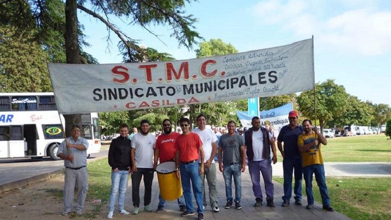 Los obreros del STMC marcharán el próximo miércoles.