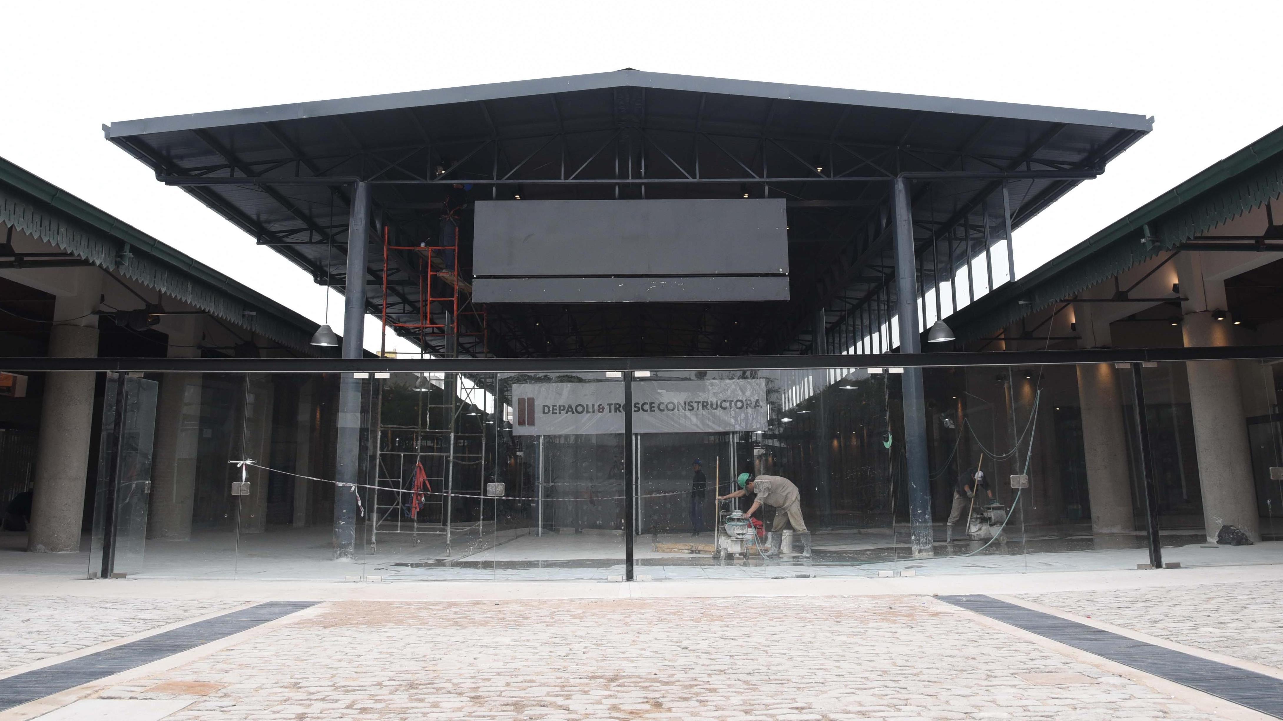 El Patio de la Madera, justo antes de convertirse en Mercado del Patio.