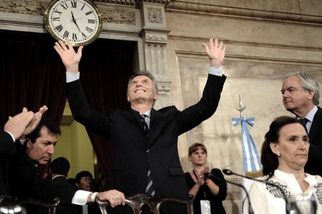 Macri en la apertura del 2017