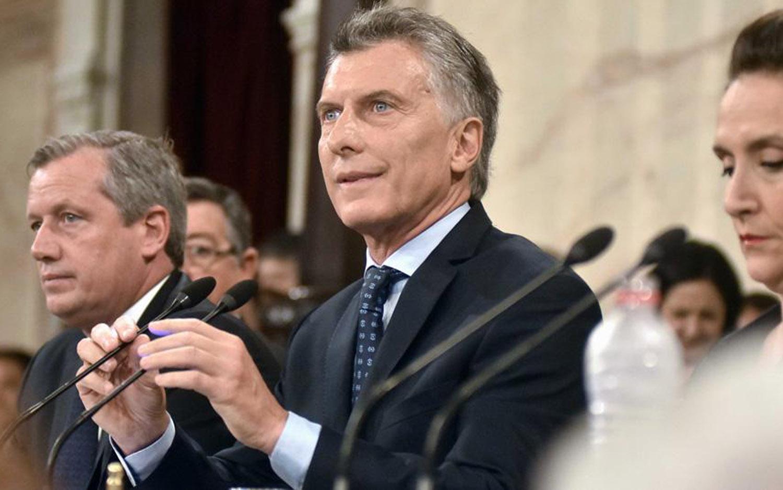 Macri va al Congreso