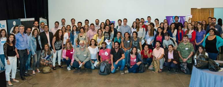 Los participantes del primer encuentro del Open Data Day.
