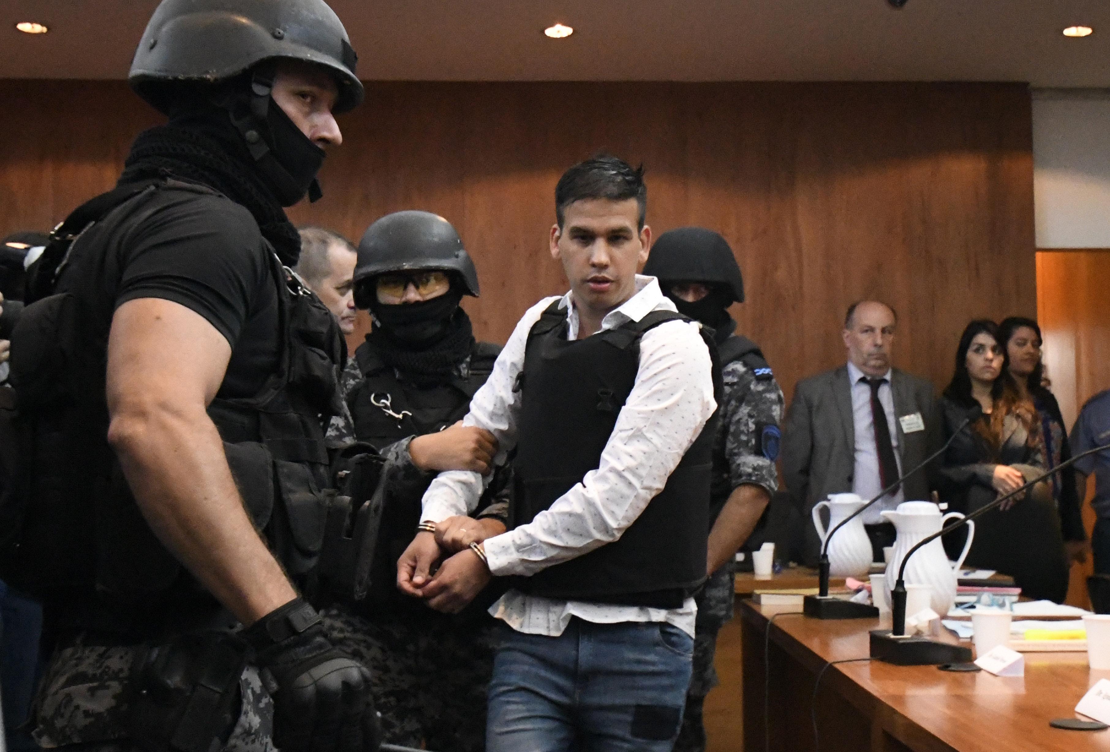 Monchi Cantero durante el juicio (Juan José García)