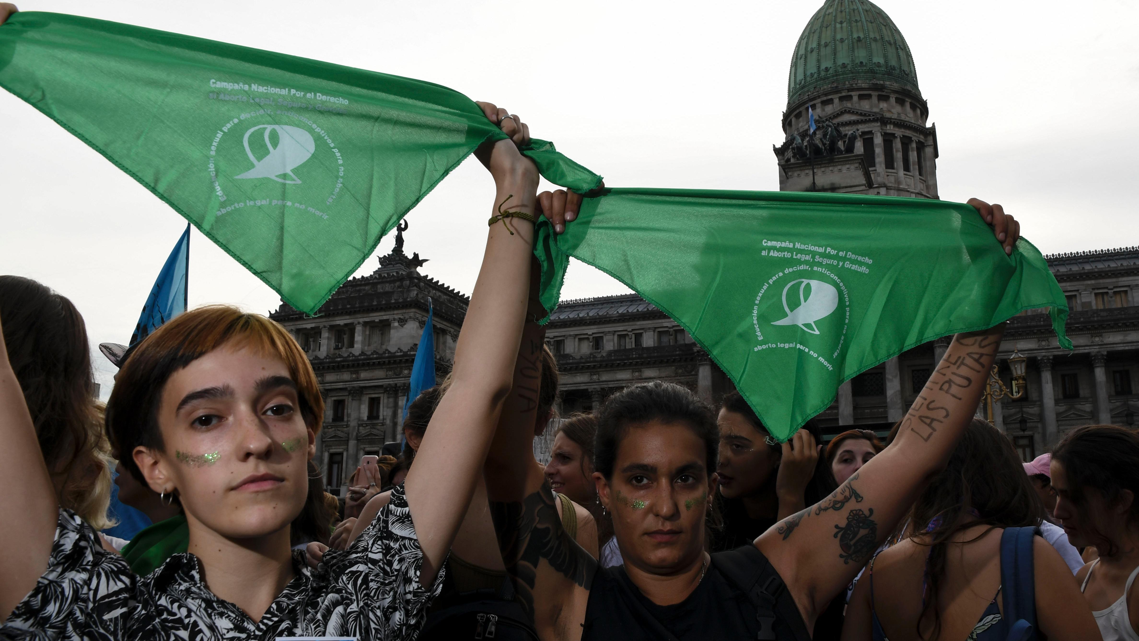 Fueron miles de mujeres en Buenos Aires y otros puntos del país.