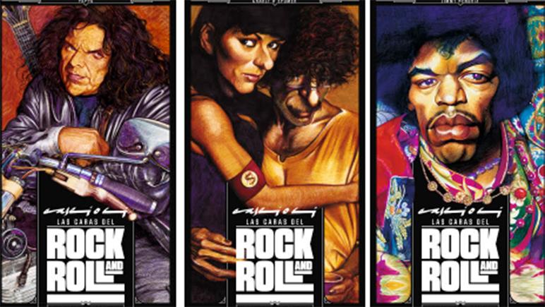 Hasta el 15 de abril se pueden ver las caras del rock en el espacio local