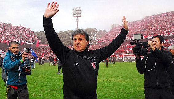 Tata Martino, ídolo y campeón