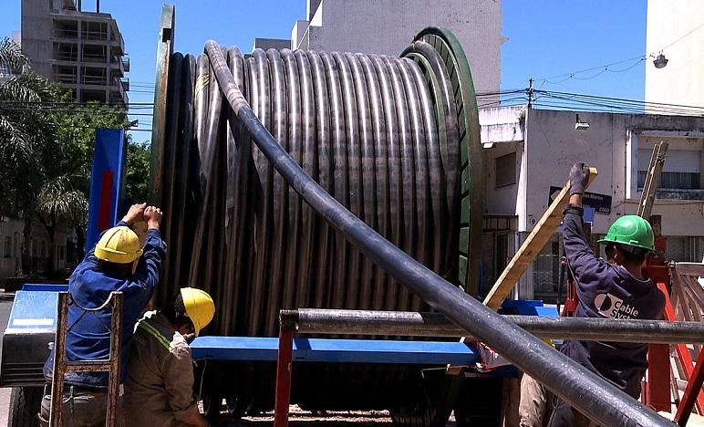 La vinculación será a través de 7600 metros de cables subterráneo.