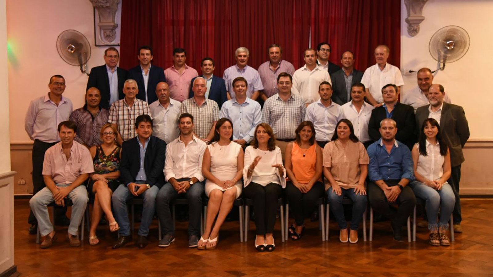 Los intendentes ratificaron su compromiso con el desarrollo sostenible