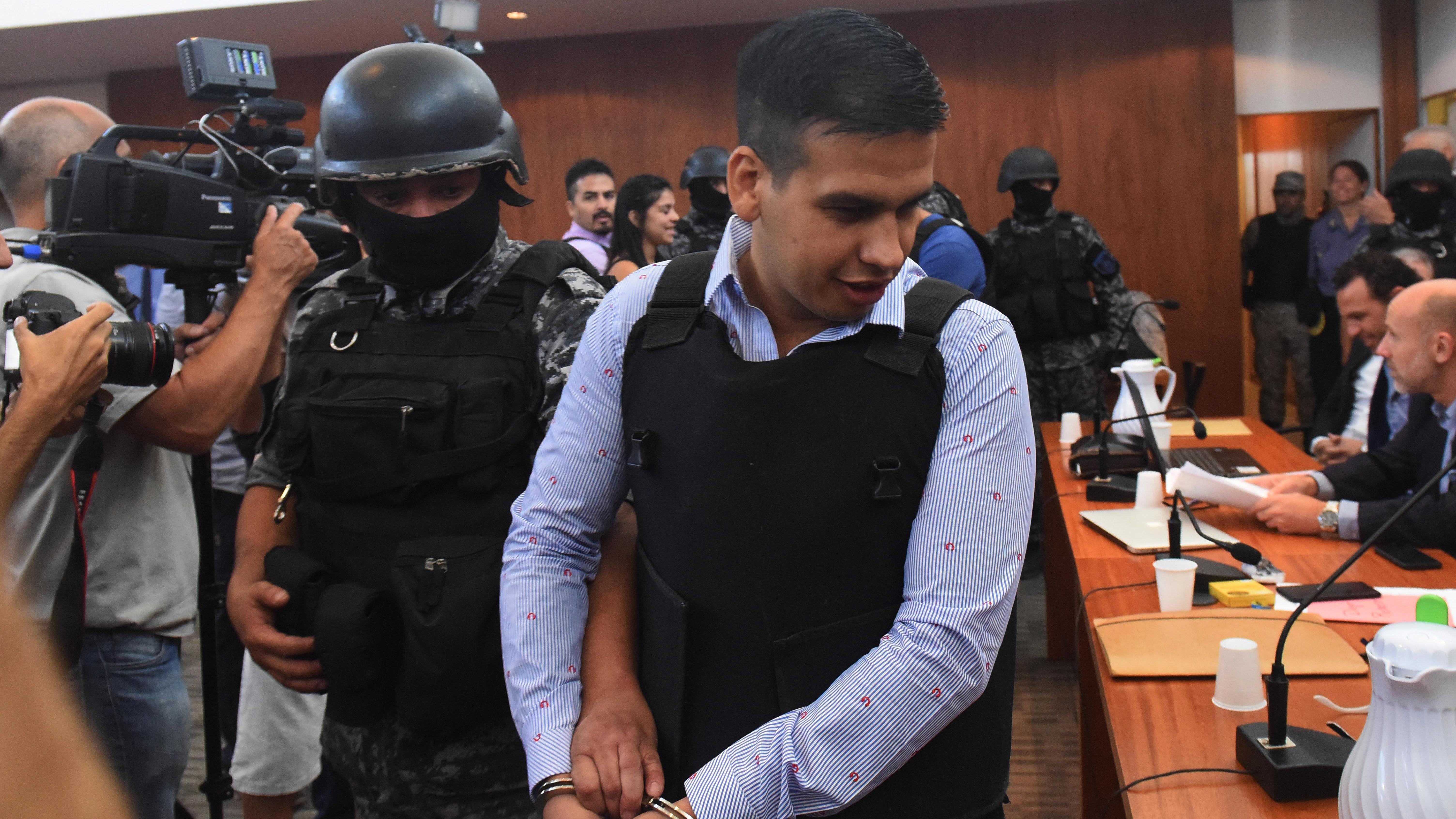 """El """"Monchi"""" Cantero fue procesado por matar a Demarre, el ejecutor de su hermanastro """"Pájaro""""."""