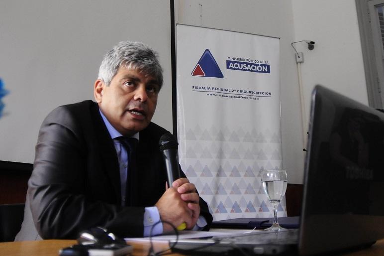 El fiscal general habló de las cifras de homicidios en Rosario