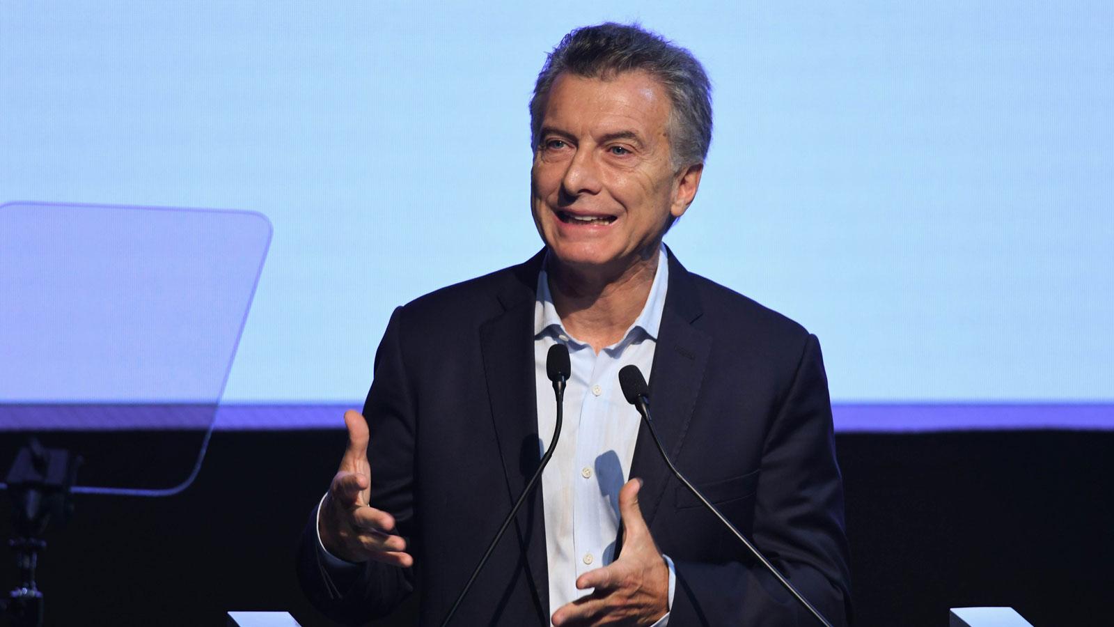 Macri encabezó un acto por el 50º aniversario del Indec (Foto de Télam)