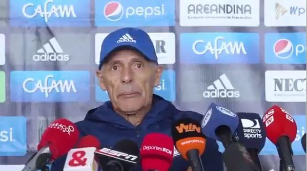 El entrenador había dado una sentida conferencia de prensa