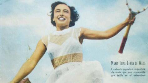 Mary Terán, la tenista rosarina que conquistó al mundo.