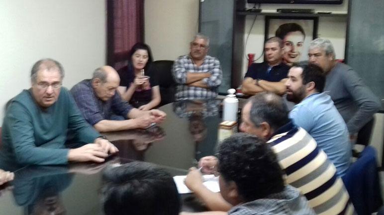 La Intersindical Casilda se reune en las instalaciones de la UOM.