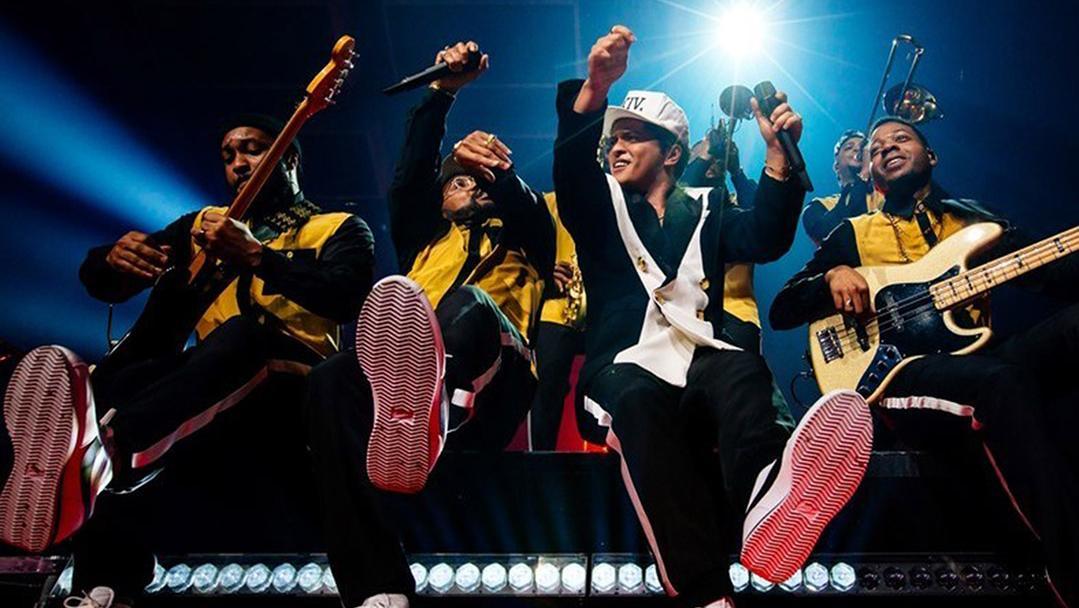 Bruno Mars fue el máximo ganador de la gala.