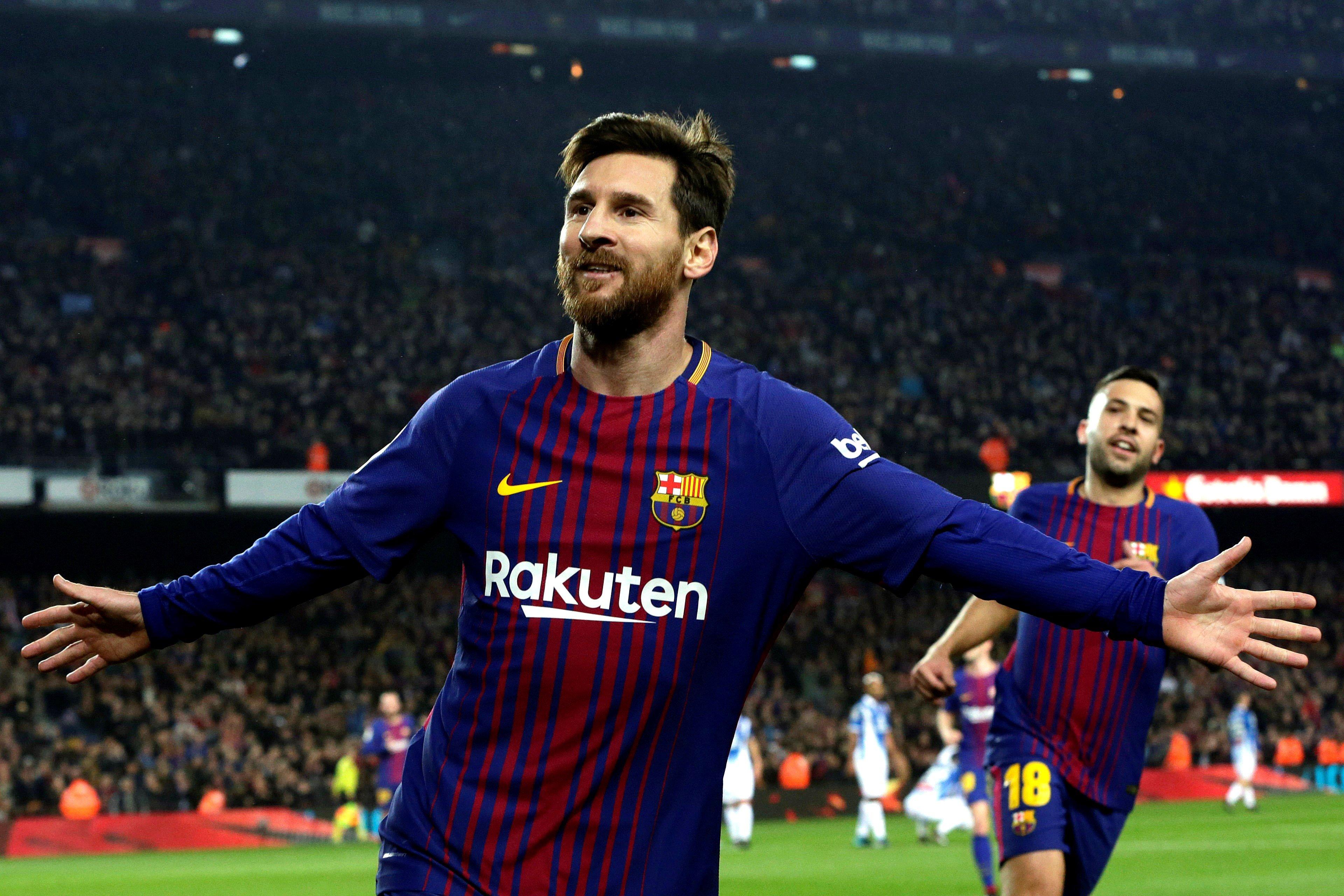 Messi sigue haciendo goles (EFE)