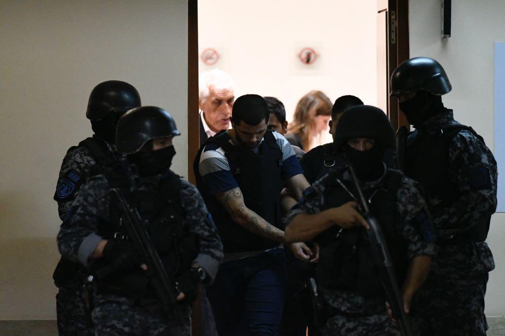 Funes quiere despegarse del asesinato de Marcela Díaz.