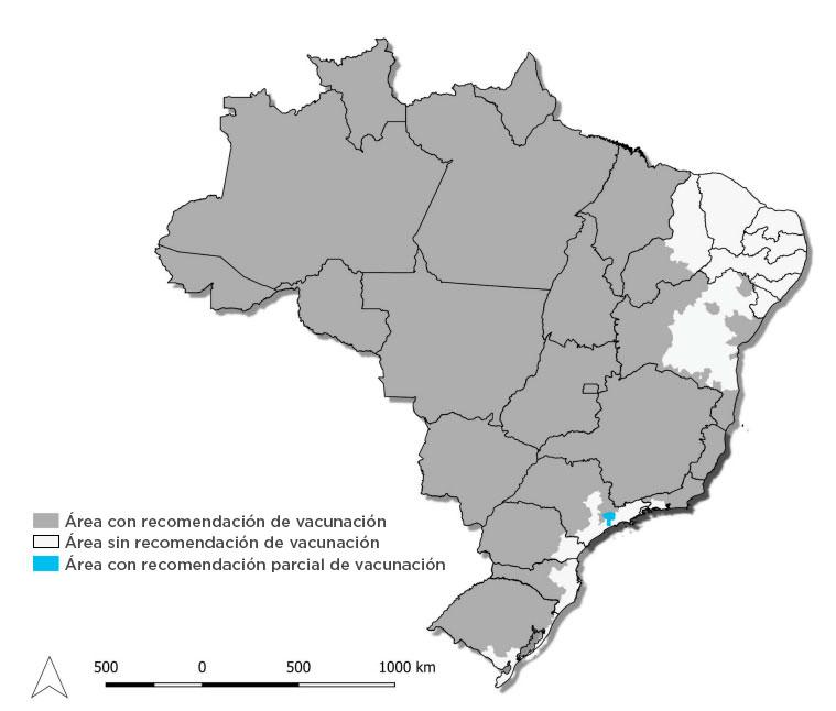 Lugares donde se registraron casos de fiebre amarilla (Fuente:Ministerio de Salud de la Nación).