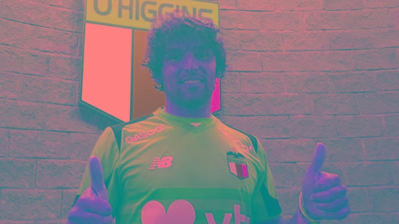 Fontanini en O'Higgins, su último club antes de Newell's.