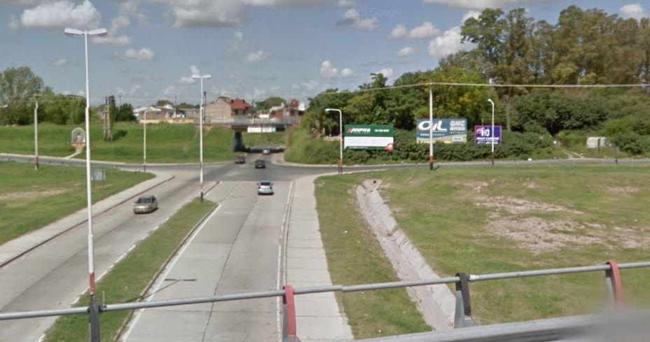 La zona de Circunvalación y el acceso a Villa Gobernador Gálvez