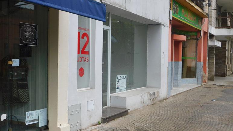 La disponibilidad de alquileres es elocuente. Dicen que hay 4000 locales desocupados en Rosario.