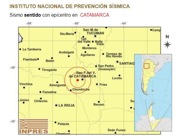 El fenómeno se produjo a pocos kilómetros de San Fernando del Valle.