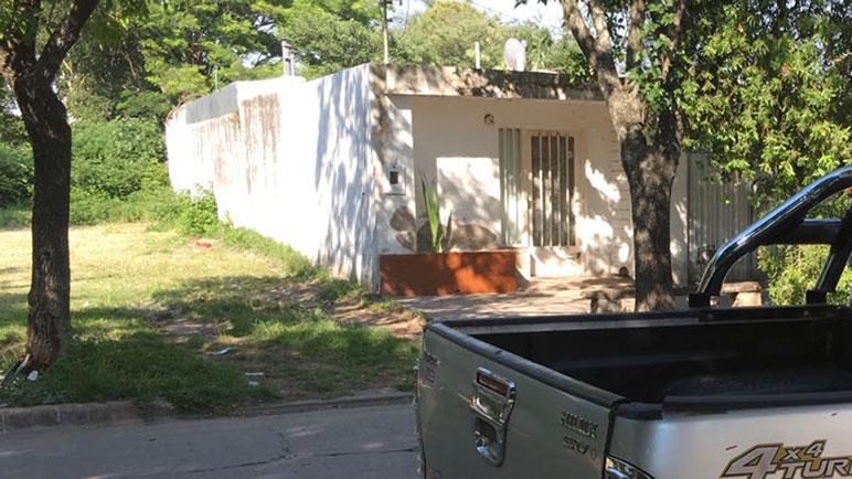 PDI allanó la casa del joven identificado por las cámara de seguridad.