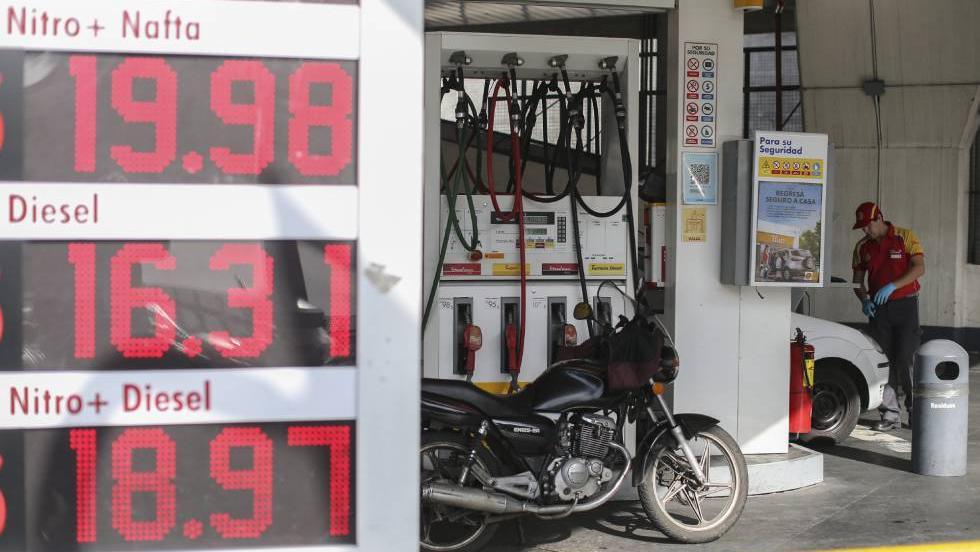 El valor del combustible quedará sujeto al del barril de crudo internacional.