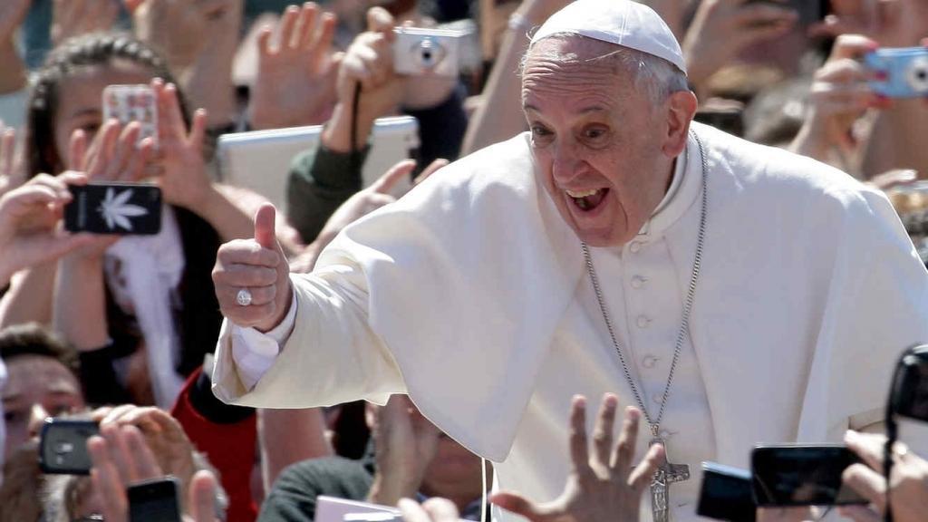 En el día de los santos inocentes el Papa se pronunció en contra del aborto.