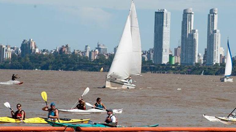 El río llama y el finde largo se llenará de turistas