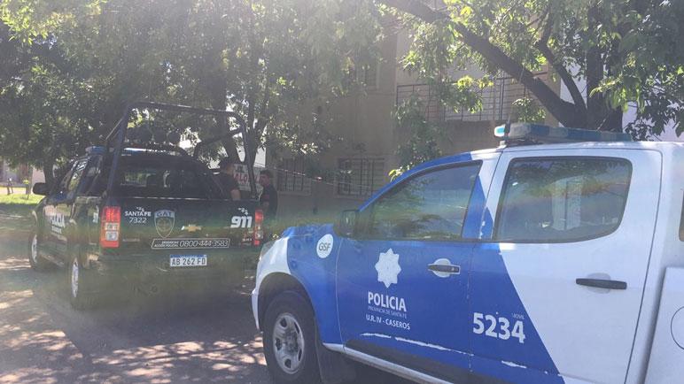 La policía de la ciudad tuvo una mañana de jueves agitada.
