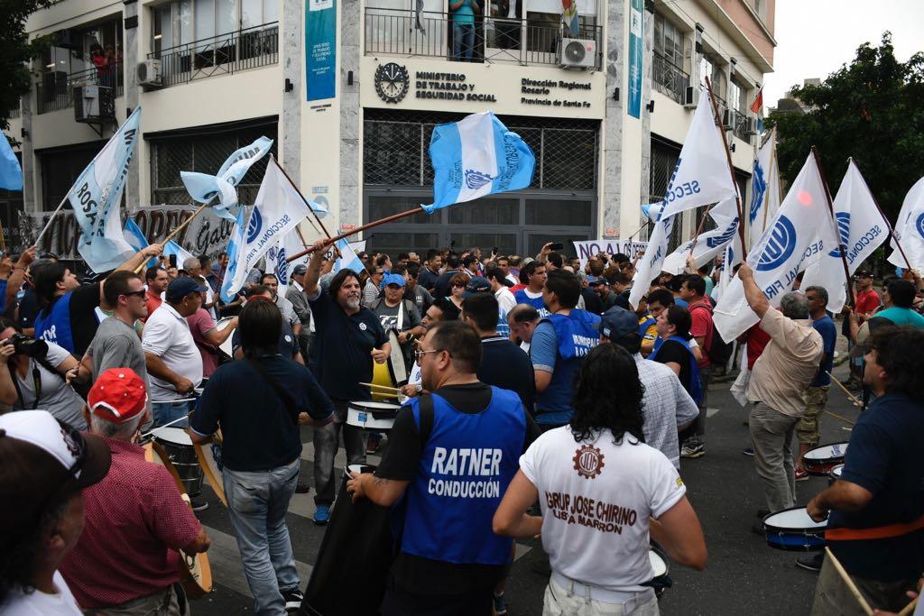 Movilización frente al Ministerio de Trabajo(Juan José García)