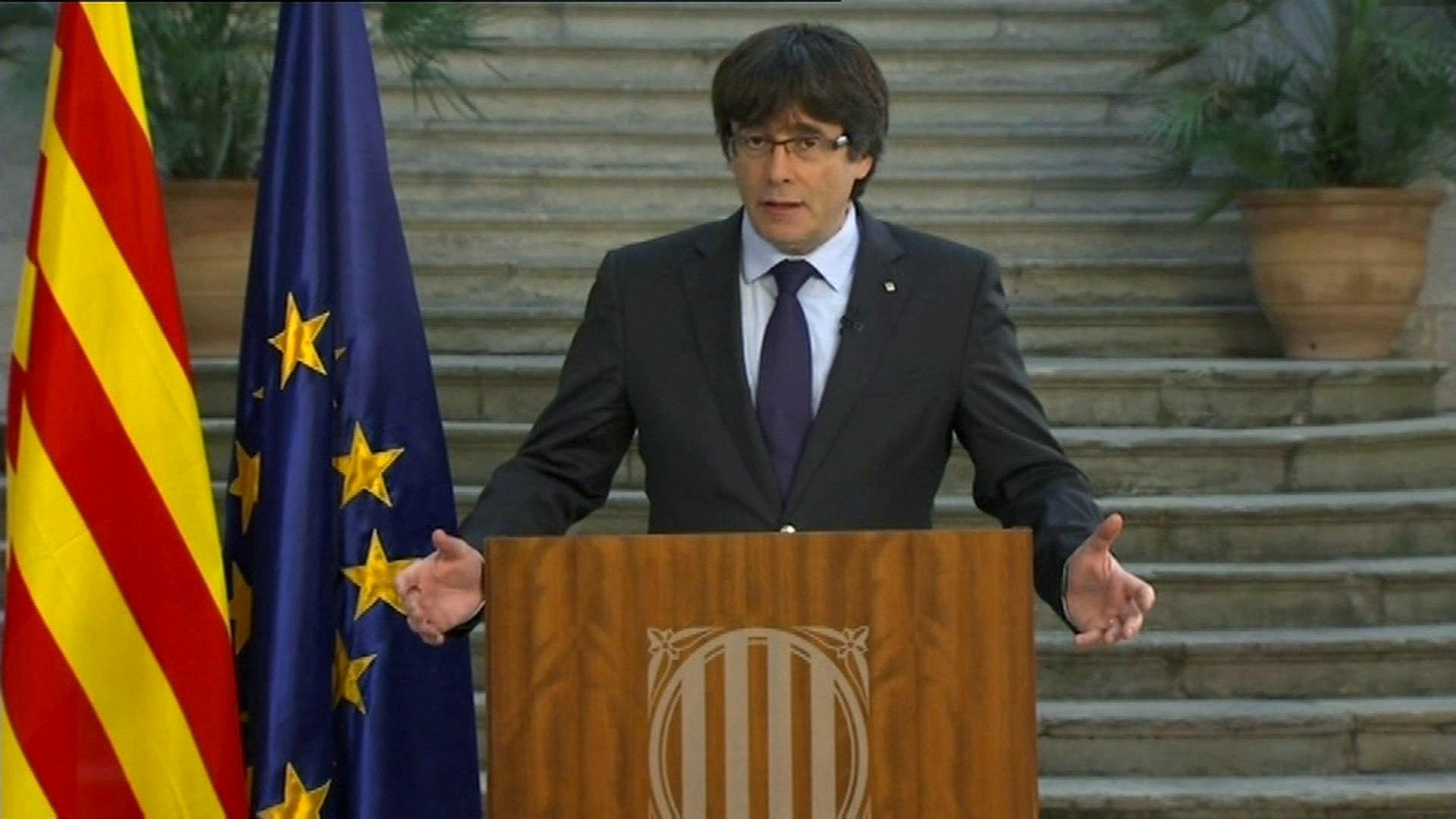 Puigdemontno acepta que Rajoy lo desplace del cargo (EFE)