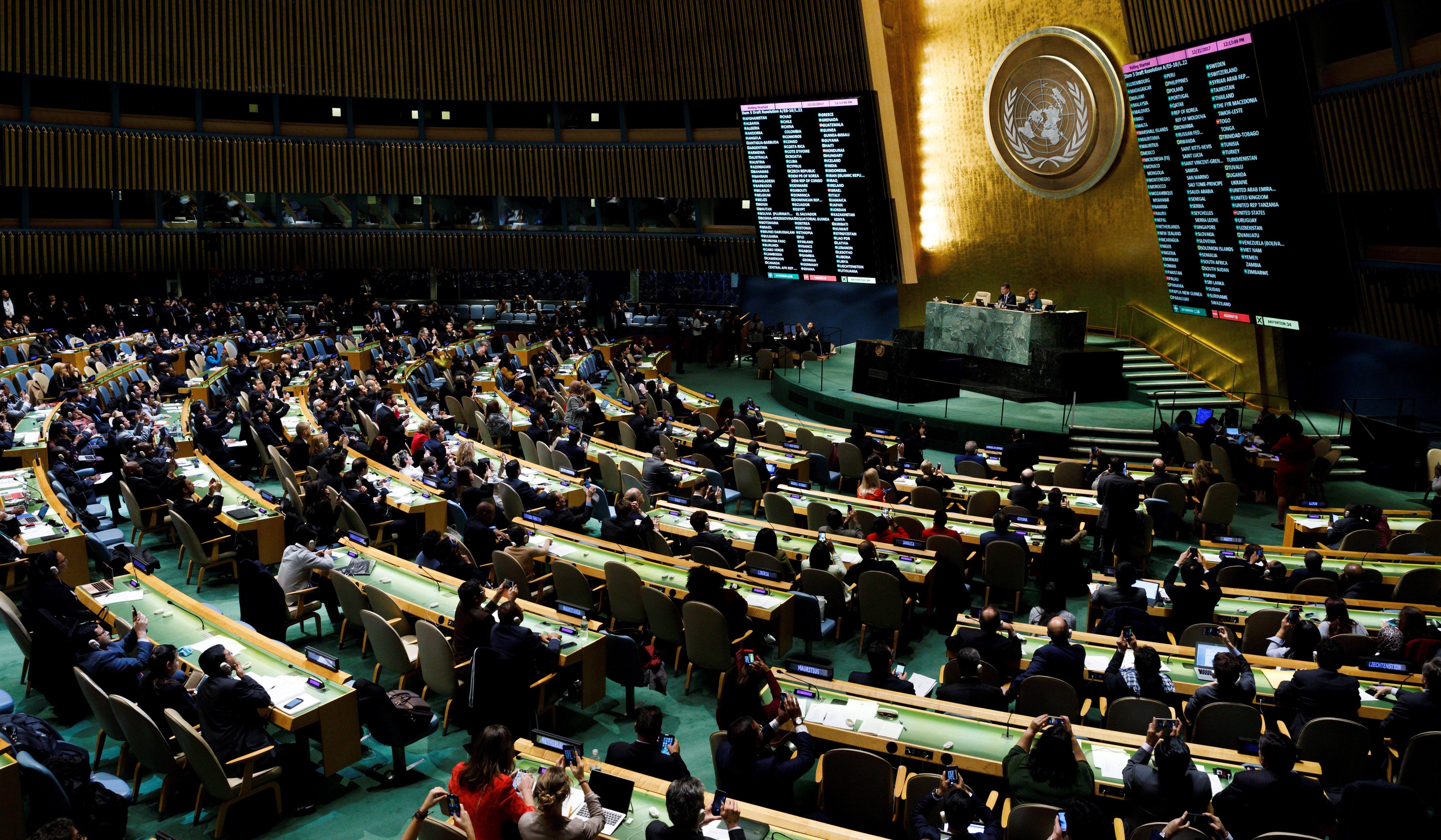 La ONU criticó la medida de Trump(EFE)