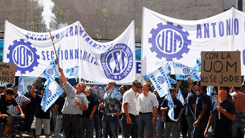 La Unión de Obreros Metalúrgicos trabajará con normalidad mañana.