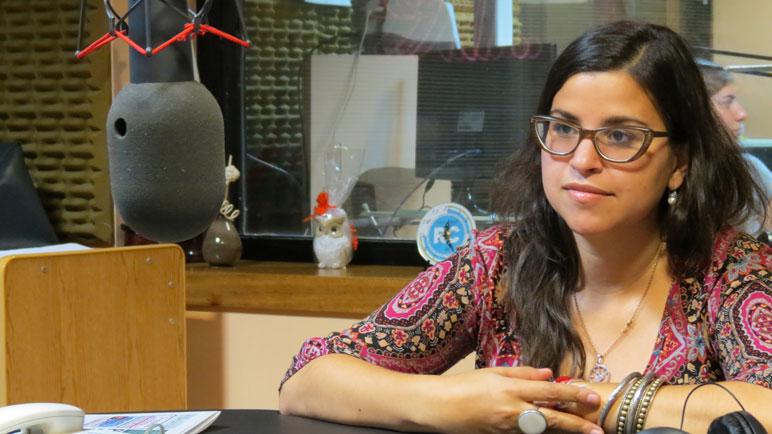 Franca Bonifazzibrindó su testimonio a Radio Casilda.