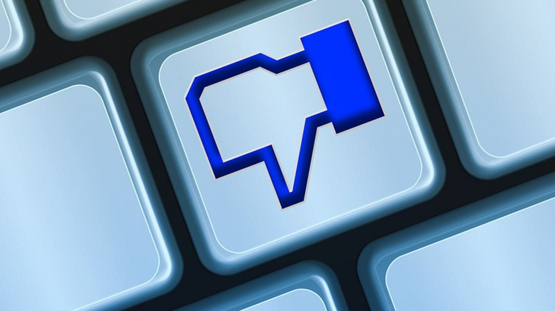 La red social no quiere posteos que pidan me gustas