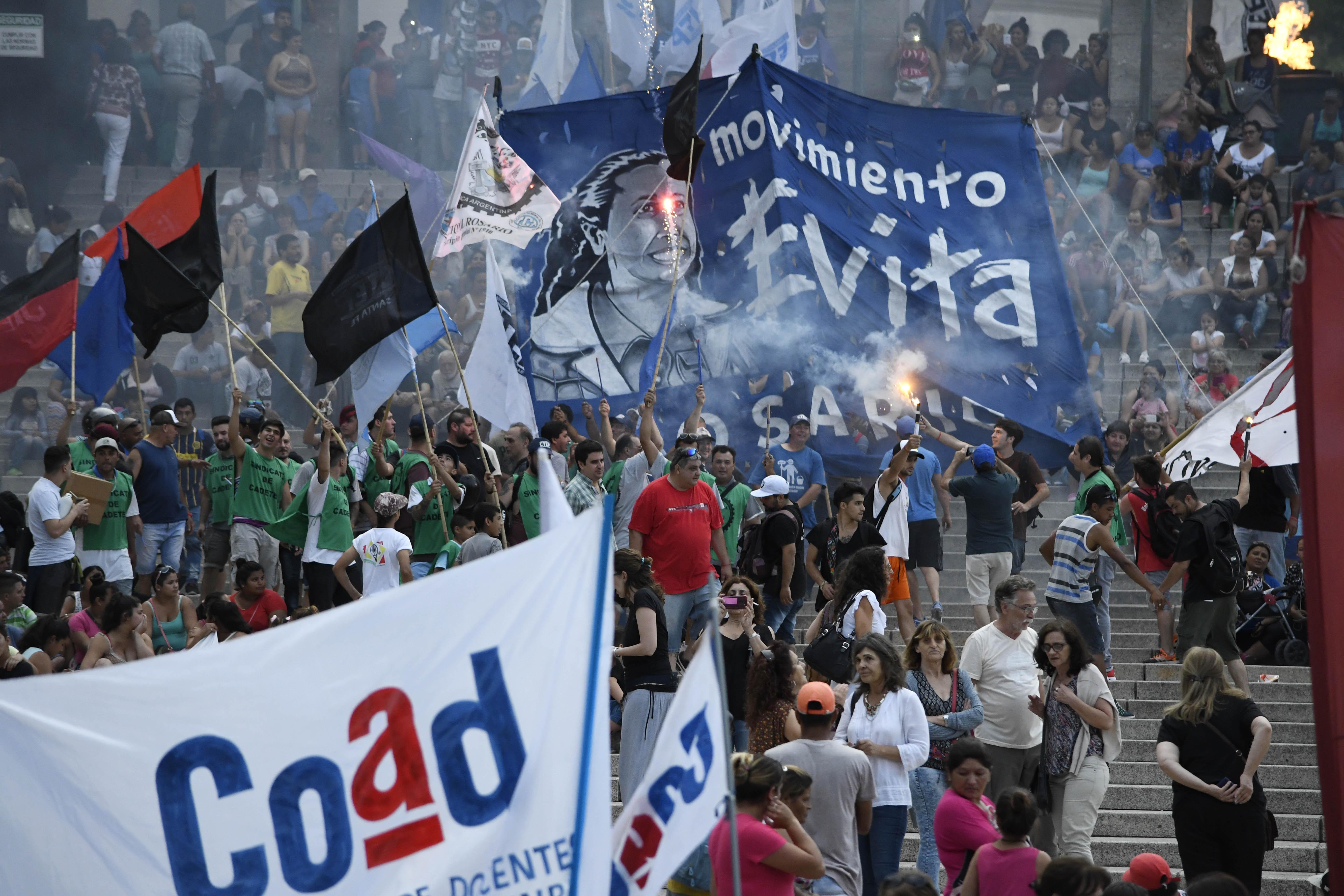 Rosarinos marcharon pidiendo justicia (Foto: Juan Jose Garcia)