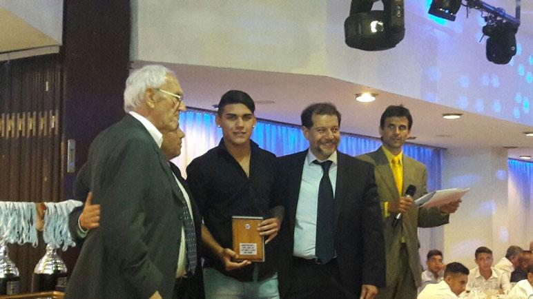 Cabrera fue distinguido este miércoles en Buenos Aires.