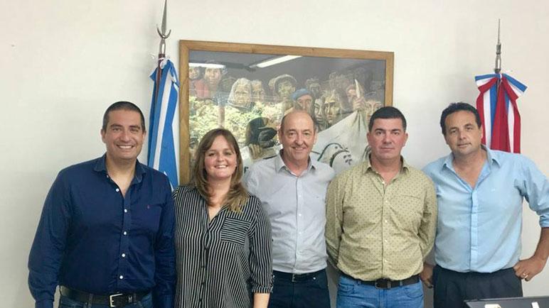 Cacciarelli, Forcada, Álvarez, Grgicevic y Larrambebere. Transición del FPCyS en Los Molinos y Arequito.