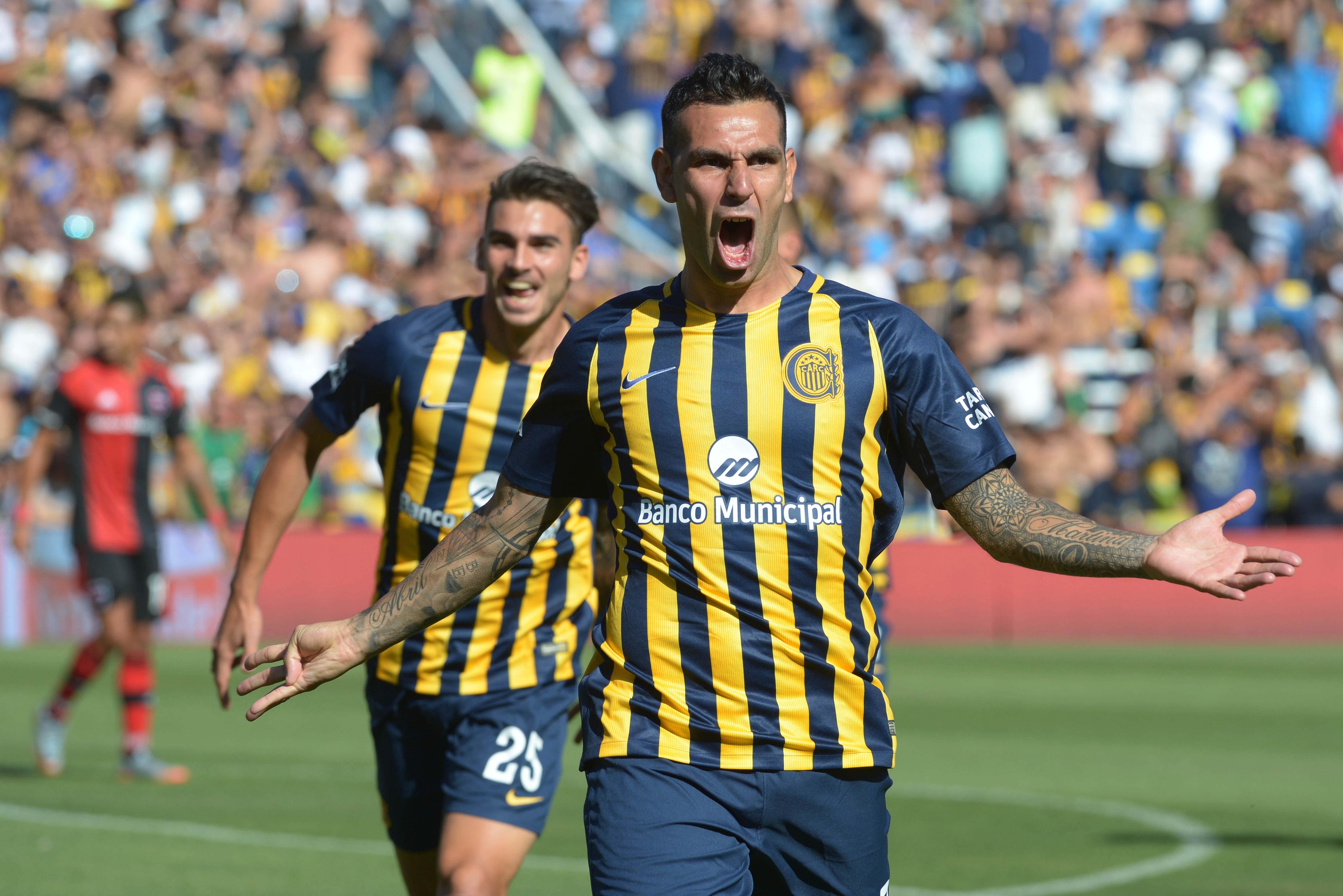 Germán Herrera marcó el gol de la victoria (Télam)