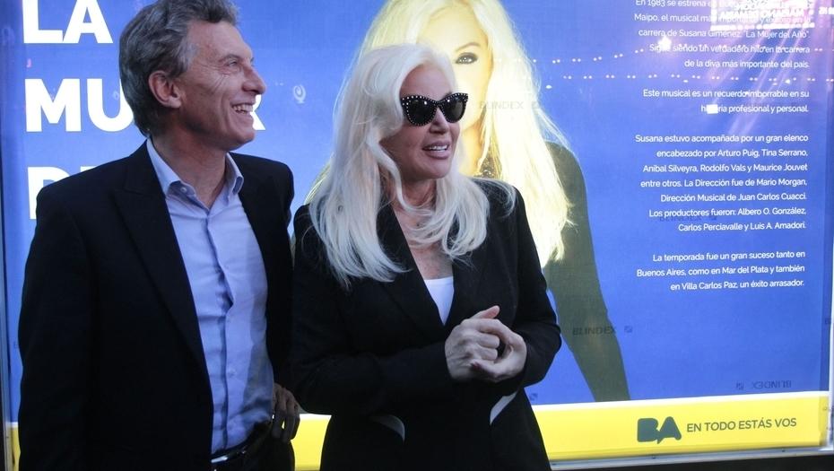 Macri suspendió la entrevista con Susana luego de las críticas de la diva.