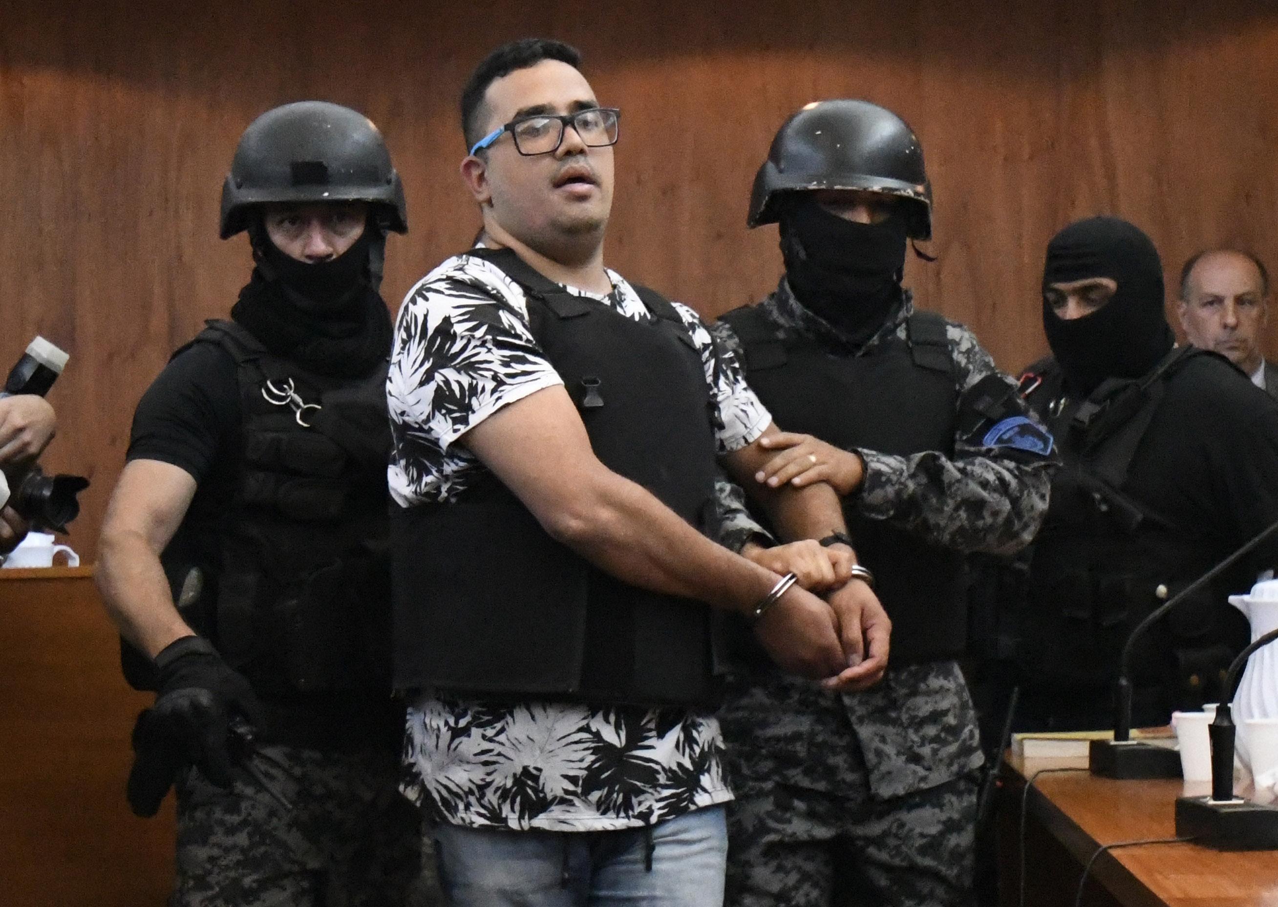Guille Cantero podría recibir una pena de 24 años (Juan José García)