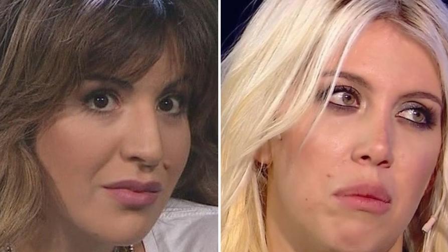 Wanda y Gianinna enfrentadas por Maradona