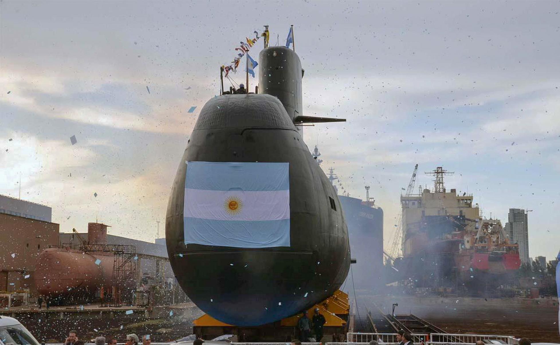 El submarino tiene 44 tripulantes a bordo (Télam)
