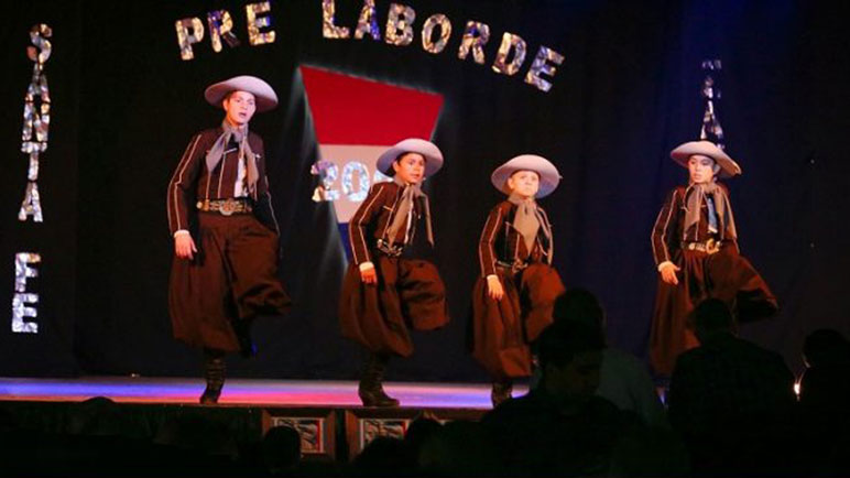 En noviembre hubo un show de malambo en Zavalla.