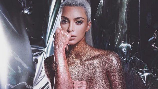 El desnudo de Kim Kardashian para presentar su línea de cosméticos